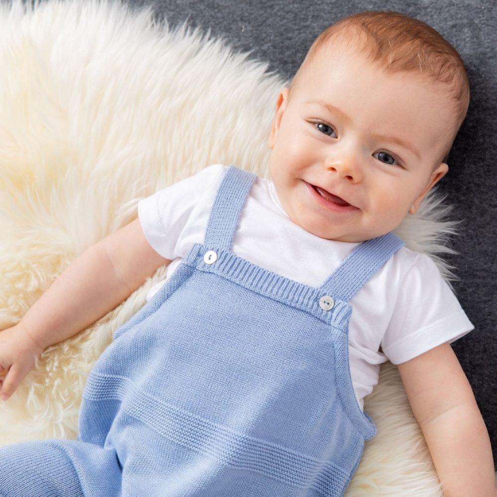 A3006B Knitted Dungaree
